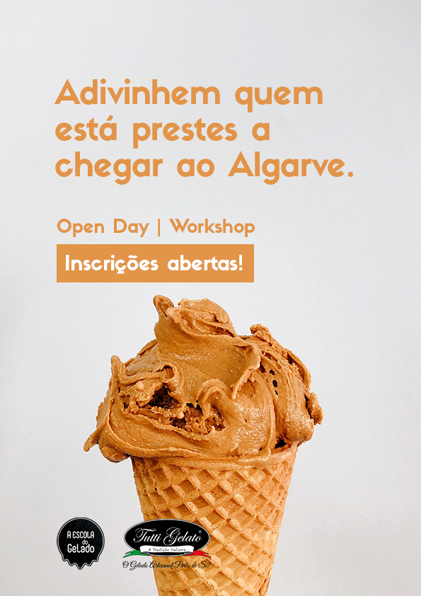 A Escola do Gelado chegou ao ALGARVE!